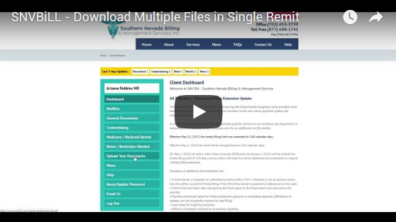 Download Multiple Files Within Single Remit